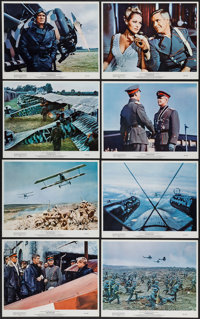 """The Blue Max (20th Century Fox, 1966). Portrait and Scene Photos (13) (8"""" X 10""""). War. ... (Total: 13 Items)"""