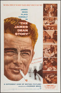 """Movie Posters:Documentary, The James Dean Story (Warner Brothers, 1957). One Sheet (27"""" X41""""). Documentary.. ..."""