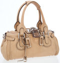 Luxury Accessories:Bags, Chloe Light Brown Leather Paddington Shoulder Bag. ...