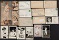 Baseball Collectibles:Others, Baseball Greats Signed Vintage Memorabilia Lot of 15+....