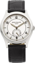 Timepieces:Wristwatch, Patek Philippe Ref. 5565 Rare Limited Edition Steel Calatrava Made In 300 Examples, circa 2006. ...