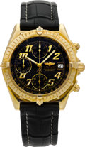 Timepieces:Wristwatch, Breitling Ref. K13050 Gold Chronomat Automatic Certified Chronometer. ...