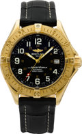 Timepieces:Wristwatch, Breitling 18k Gold Colt Superocean Limited Edition Automatic Ref. K10040, No. 046/100. ...