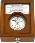 Timepieces:Pocket (post 1900), Hamilton Unused Model 22 Chronometer Received For Auction In Factory Sealed Box. ...
