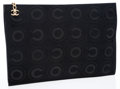 Luxury Accessories:Bags, Chanel Black Pony Hair Coco Clutch. ...