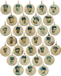 "Baseball Collectibles:Pins, 1938 PM8 ""Our National Game"" Pins Complete Set (30). ..."
