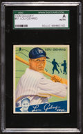Baseball Cards:Singles (1930-1939), 1934 Goudey Lou Gehrig #61 SGC Authentic. ...
