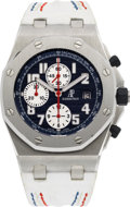 Timepieces:Wristwatch, Audemars Piguet Rare Rue St-Honoré Limited Edition Royal OakOffshore Chronograph No. 031/100. ...