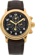 Timepieces:Wristwatch, Blancpain Very Fine Rose Gold Limited Edition Leman ChronographPerpetual Calendar, No. 34/50. ...