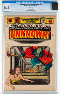 Golden Age (1938-1955):Science Fiction, Adventures Into The Unknown #51 (ACG, 1954) CGC FN+ 6.5 Whitepages....