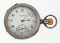 Timepieces:Pocket (post 1900), E. Howard 19 Jewel Coin Silver Pocket Watch. ...