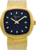 Timepieces:Wristwatch, Patek Philippe Rare Ref. 3587/1 CEH Beta 21 Quartz Yellow GoldWristwatch. ...
