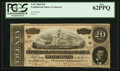 Confederate Notes:1864 Issues, T67 $20 1864 PF-14 Cr. 514.. ...