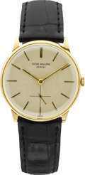 Timepieces:Wristwatch, Patek Philippe Ref. 2573/2 Fine Gent's Gold Wristwatch, circa1970's. ...