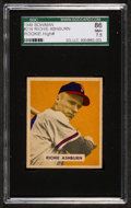 Baseball Cards:Singles (1940-1949), 1949 Bowman Richie Ashburn #214 SGC 86 NM+ 7.5....