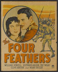 "The Four Feathers (Paramount, 1929). Window Card (14"" X 17""). Adventure"