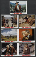 """Movie Posters:Western, The Naked Spur (MGM, 1953). Deluxe Lobby Cards (7) (11"""" X 14""""). Western. ... (Total: 7 Items)"""