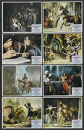 """Movie Posters:Fantasy, The Golden Voyage of Sinbad (Columbia, 1973). Lobby Card Set of 8 (11"""" X 14""""). Fantasy. ... (Total: 8 Items)"""