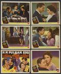 """Movie Posters:Drama, H.M. Pulham, Esq. (MGM, 1941). Title Lobby Card and Lobby Cards (5) (11"""" X 14""""). Drama. ... (Total: 6 Items)"""