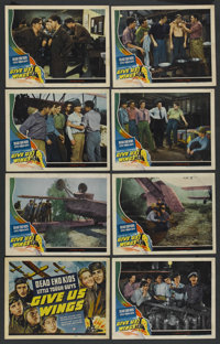 """Give Us Wings (Universal, 1940). Lobby Card Set of 8 (11"""" X 14""""). Adventure. ... (Total: 8 Items)"""