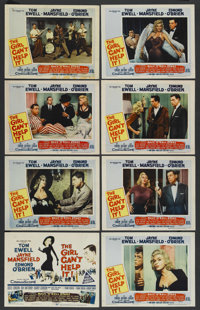 "The Girl Can't Help It (20th Century Fox, 1956). Lobby Card Set of 8 (11"" X 14""). Comedy. ... (Total: 8 Items)"