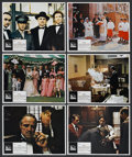 "Movie Posters:Crime, The Godfather (Paramount, 1972). Lobby Cards (6) (11"" X 14"").Crime. ... (Total: 6 Items)"