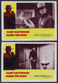 "Movie Posters:Western, Hang 'Em High (United Artists, 1968). Lobby Cards (2) (11"" X 14"").Western. ... (Total: 2 Items)"