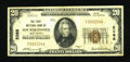 National Bank Notes:West Virginia, New Martinsville, WV - $20 1929 Ty. 1 The First NB Ch. # 5266. ...