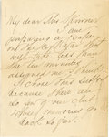 Western Expansion:Cowboy, AUTOGRAPHD LETTER ELIZABETH CUSTER - Elizabeth Custer (1842-1933)Wife of General George Custer. Married in February 1864, ...(Total: 1 Item)