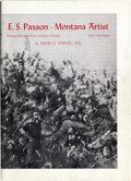Western Expansion:Cowboy, E. S. PAXSON MONTANA ARTIST BOOKLET, 1961 - Paxson, E. S.(1852-1919) American artist of the Wild West. Montana artistbook... (Total: 1 Item)