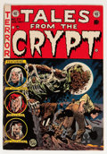 Golden Age (1938-1955):Horror, Tales From the Crypt #37 (EC, 1953) Condition: VG....