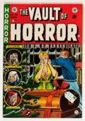 Golden Age (1938-1955):Horror, Vault of Horror #35 (EC, 1954) Condition: FN-....
