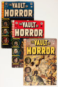 Golden Age (1938-1955):Science Fiction, EC Horror Comics Group (EC, 1950s) Condition: Average GD....(Total: 9 Comic Books)