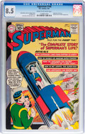 Silver Age (1956-1969):Superhero, Superman #146 (DC, 1961) CGC VF+ 8.5 Cream to off-white pages....