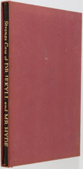 Books:Fine Press & Book Arts, [Limited Editions Club]. Robert Louis Stevenson. SIGNED/LIMITED. Strange Case of Dr. Jekyll and Mr. Hyde. New Yo...