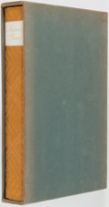 Books:Fine Press & Book Arts, [Limited Editions Club]. Gustave Flaubert. SIGNED/LIMITED.Madame Bovary. New York: LEC, 1950. One of 1,500 co...