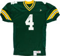 Football Collectibles:Uniforms, Brett Favre Signed Green Bay Packers Jersey....