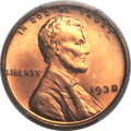 Lincoln Cents, 1938 1C MS67+ Red PCGS. CAC....