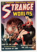 Golden Age (1938-1955):Science Fiction, Strange Worlds #2 (Avon, 1951) Condition: FN....