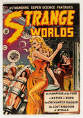 Golden Age (1938-1955):Science Fiction, Strange Worlds #4 (Avon, 1951) Condition: GD+....