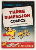 Golden Age (1938-1955):Cartoon Character, Mighty Mouse 3-D #1 (St. John, 1953) Condition: FN/VF....