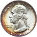 Washington Quarters, 1944-S 25C MS67+ PCGS. CAC....