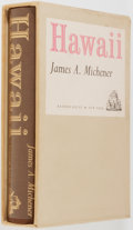 Books:Literature 1900-up, James A. Michener. SIGNED LIMITED. Hawaii. New York: RandomHouse, [1959]. First edition, one of 400 copies si...