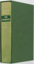 Books:Literature 1900-up, James A. Michener. SIGNED LIMITED. The Covenant. New York:Random House, [1980]. First edition, one of 500 cop...