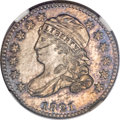 Bust Dimes, 1821 10C Small Date MS63 NGC. JR-9, R.2....