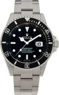 Timepieces:Wristwatch, No Shipping into the U.S. - Rolex Ref. 16610 Steel Oyster Perpetual Submariner, circa 1999. ...