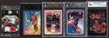 Basketball Cards:Lots, 1980's-2000's Multi-Brand Michael Jordan Card Collection (76) WithGame Used Jersey Card. ...
