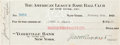 Autographs:Checks, 1922 Joe Kelley Signed New York Yankees Payroll Check....