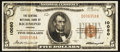 National Bank Notes:Virginia, Richmond, VA - $5 1929 Ty. 1 The Central NB Ch. # 10080. ...