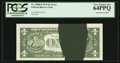 Error Notes:Ink Smears, Fr. 1908-B $1 1974 Federal Reserve Note. PCGS Very Choice New64PPQ.. ...